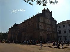 Basilica of Bom Jesus is located in Old Goa and is perhaps the most famous church in India. It is a UNESCO World Heritage Site. The Jesuit church holds the mortal remains of St. Francis Xavier. Bom Jesus means Good Jesus or Infant Jesus.