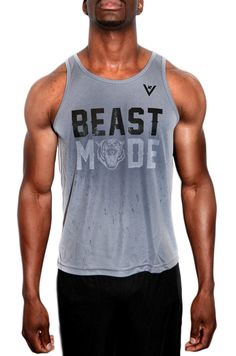 "MEN'S VIEWSPORT® ""BEAST"" PERFORMANCE TANK - WORKOUT TANK TOP. $25.00"