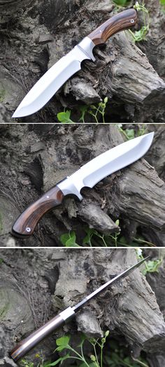 Outdoor hunting knife for man