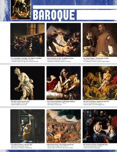 Art History Binder Notes Resource: BAROQUE (Movement Binder Notes)