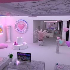40 + New Stylish Pastel Aesthetic Room Ideas - Art and Decoration Ideas Dream Rooms, Dream Bedroom, Girls Bedroom, Bedroom Decor, My New Room, My Room, Pastel Room, Pastel Pink, Lilac