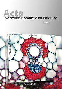 Acta Societatis Botanicorum  https://pbsociety.org.pl/journals/index.php/asbp