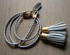rope bracelet with tassels