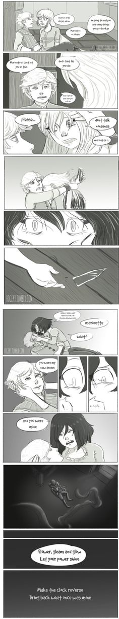 Repunzel AU Miraculous Comic
