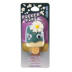 Pucker Pops parfum fraise avec pâquerette
