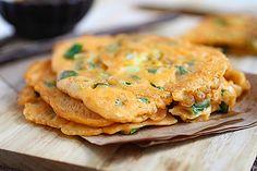 Pajeon (Korean Scallion Pancake)