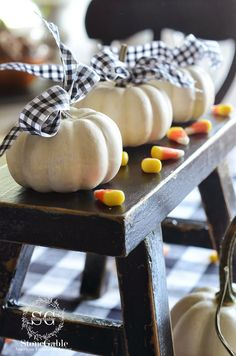 White mini pumpkins are very popular again this year! I had several people…