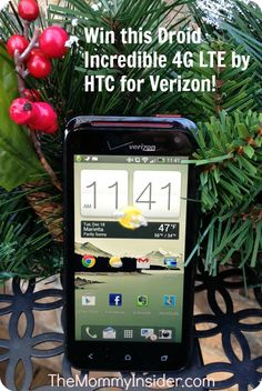 Droid 4G LTE by HTC for Verizon Wireless Giveaway