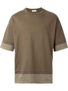 En Route カラーパネル Tシャツ
