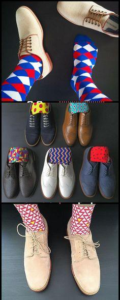 Socks that get people talking.