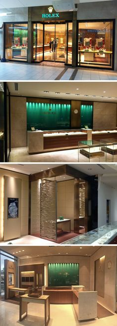 """Rolex Store Fixtures. Manufacture & Design of Store Fixtures by Artco Group. """"The only way to do great work is to love what you do"""""""