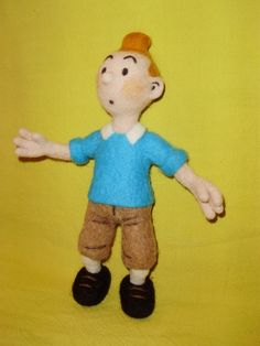 Felt toys- I love Tintin, he is up there with Poirot and Sherlock Holmes!
