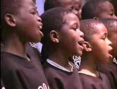 """You are the Shepherd -- African Children's Choir  -Join our Workshop """"Families Belong to the Shepherd""""! Book early.  www.magnificatmealmovement.com"""