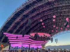 Palm Springs, Indie, Hip Hop, Stage Set, Stage Design, Coachella, Lighting Design, City Photo, Fair Grounds