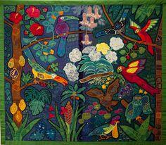 Fumiko Nakayama's quilt. Квилт