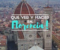40 cosas imperdibles que hacer en tu paso por Florencia, una de las ciudades más astísticas y culturales de La Toscana, Italia. Europe Travel Outfits, Packing Tips For Travel, Travel Goals, Summer Travel, Time Travel, Places To Travel, Spain Travel, Italy Travel, Toscana Italia