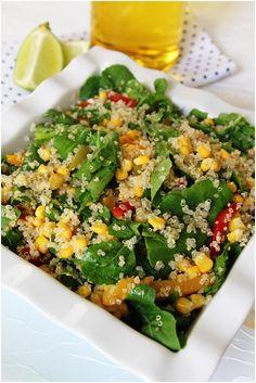 Mısırlı Kinoa Salatası