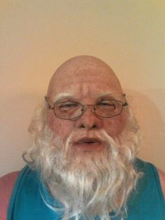 Realistic Silicone Mask Old man / Santa Claus from CFX