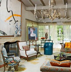 Eclectic: Sela Ward's Stylish Bel Air Home With a Southern Soul