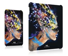 Unique covers for iPhone and iPad, inspired by Egyptian princess Nefertiti, handcrafted with SWAROVSKI ELEMENTS.