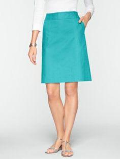 Talbots - Textured A-Line Skirt | New Arrivals | Misses