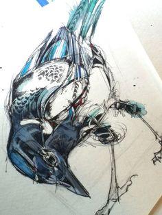 abby diamond art | Ink, paint, and feathers – Abby Diamond