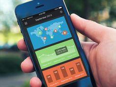 Mobile Dashboard - Analytics