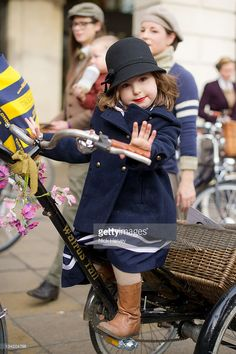 Esme Cornwell attends the Rugby Ralph Lauren Tweed Run in Covent Garden on November 26,