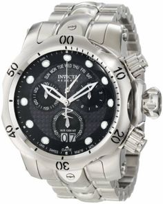 Invicta Men's 1540 Reserve Venom Chronograph Black Carbon Fiber Dial Stainless Steel Watch Invicta,http://www.amazon.com/dp/B0070LHXCK/ref=cm_sw_r_pi_dp_WtxJrb2F9E8743B5