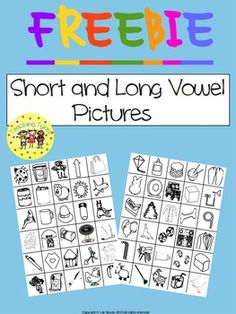 I am always looking for vowel pictures to use for various projects.