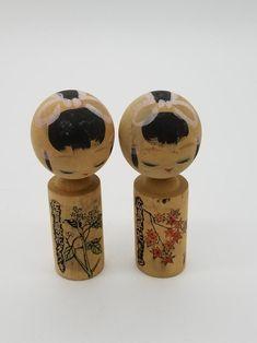 Vintage Japanse Kokeshi Doll-5 set | Etsy Kokeshi Dolls, Etsy, Vintage
