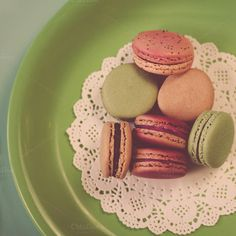 Check out Macarons on Green by Jessica Torres on Creative Market