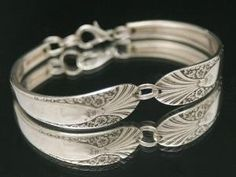 Vintage Spoon Bracelet Antique Radiance 1939 by Bentspoonjewelry, $26.00 by tanya