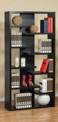Lovi Contoured Leveled Display Cabinet Bookcase:Amazon:Home & Kitchen