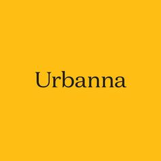 Fonts in Use: Domaine. Design: Urbanna by Forma & Co.