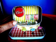 Pocket Pin Up Bar #Miniature, #Recycled