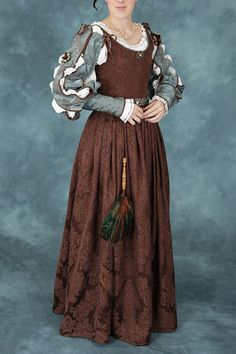 elizabethan clothing for women middle class - Google Search