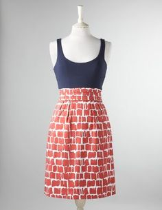 Ordered this dress from Boden in February. It's on backorder until late June. Sure hope its worth it!