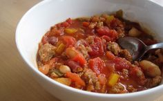 Easiest Turkey Chili