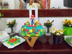Aniversário do meu cunhado, conto tudo no blog http://todaprincesamerece.blogspot.com.br/2014/02/a-decoracao-da-festa-do-principe-nerd.html #festas em casa #myparty #myhouse