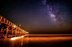 Folly Beach, South Carolina | 23 Pictures Of The Night Sky That Will Make Your Reevaluate Your Existence