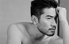 Acting is reacting GODFREY GAO for BAZAAR MEN Thailand SS15