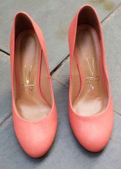 Sapato coral da Vizzano! Lindo!