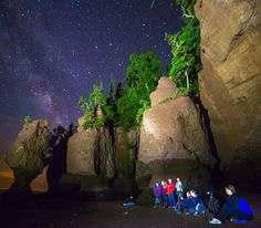 The Hopewell Rocks | Beautiful nature photography in New Brunswick, Canada | Photo: Kevin Snair / Facebook