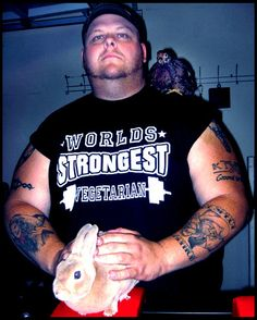 Big Bald Mike: The Vegan Arm Wrestler!!!