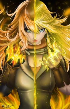 Yang Xiao Long, the Dragon Rwby Anime, Rwby Fanart, 5 Anime, Girls Anime, Anime Comics, Anime Art Girl, Rwby Characters, Female Characters, Chinese Characters