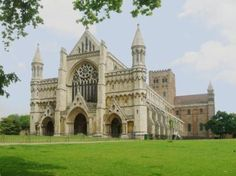 Day trip..... St. Albans, Hertfordshire.  20 min train from London St. Pancras to St. Albans City Station.
