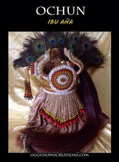Corona de Oshun Ibu Aña