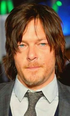 NORMAN ~ I'M DROWNING IN HIS BLUE EYES. DON'T LAUGH. BEING TOTALLY SERIOUS.