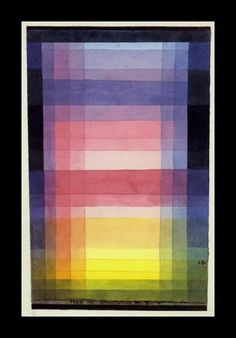Paul Klee, Architecture of Planes, 1923 on ArtStack #paul-klee #art